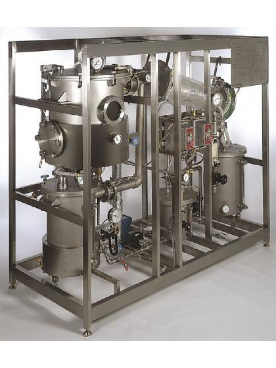 Batch Solvent Extraction and Desolventising Unit