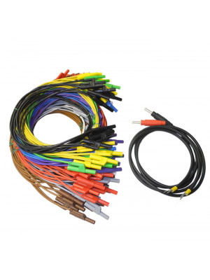 T-VARIA Set of Safety Connecting Cables 4mm