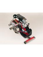 Zweitakt Moped-Motor