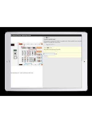 Digitale Arbeitsaufträge Kfz-Elektrik Trainer