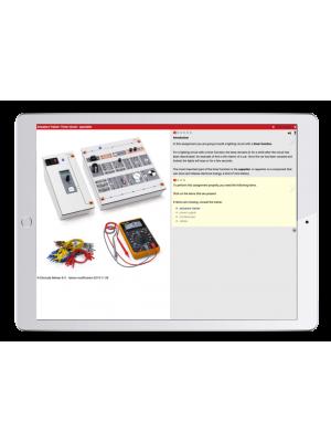 Digitale Arbeitsaufträge Kfz-Elektronik und Aktoren Trainer