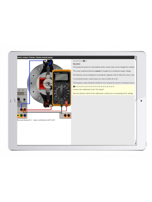 Digitale Arbeitsaufträge Kfz-Elektromotoren Trainer