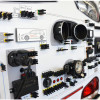 Lichtwand Zentralelektrik CAN-BUS verdrahtet