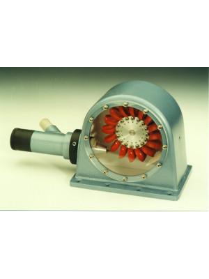 Funktionsmodell Peltonturbine