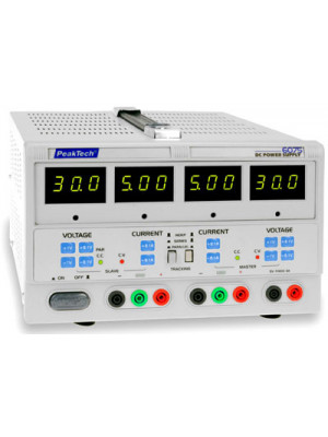 DC Laboratory Power Supply<br>2 x 0-30 V / 0-5 A