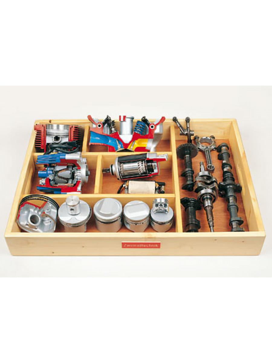 Model board: Two-wheel technique
